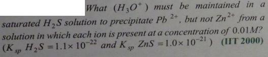 109 Ionic equilibrium dissociation constant