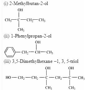 11.2-1 Ans Alcohols IUPAC names