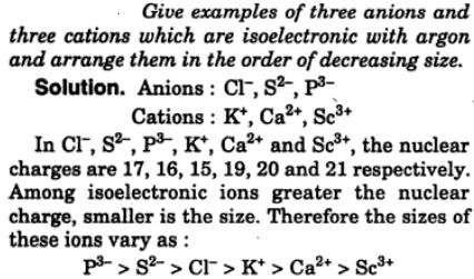 11 Give examples of 3 anions and 3 cations which