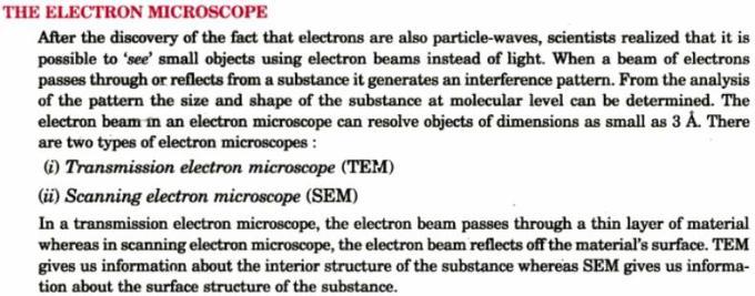 11 The electron microscope