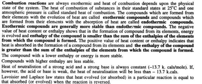 11 Thermochemistry Gyan