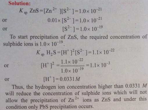 110 Ionic equilibrium dissociation constant