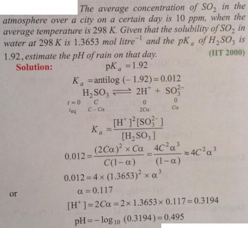 111 Ionic equilibrium dissociation constant