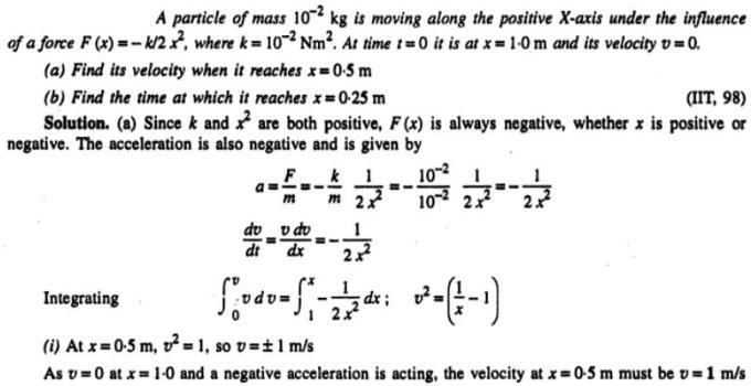11b IIT 98 Kinematics problem