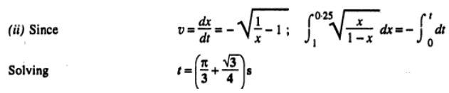 11c IIT 98 Kinematics problem