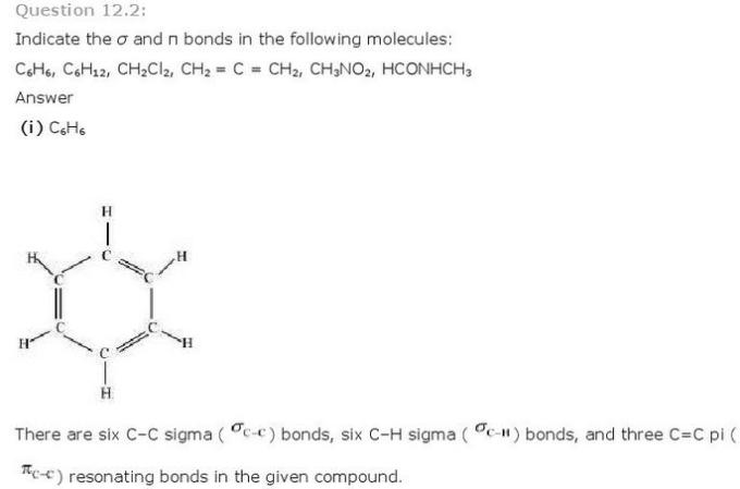 12.2a CBSE NCERT std 11 Chemistry Organic