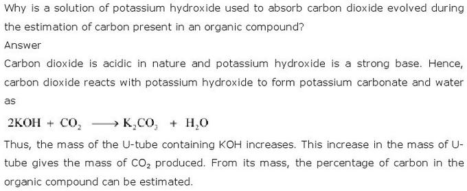 12.30 CBSE NCERT std 11 Chemistry Organic