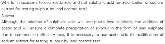 12.31 CBSE NCERT std 11 Chemistry Organic