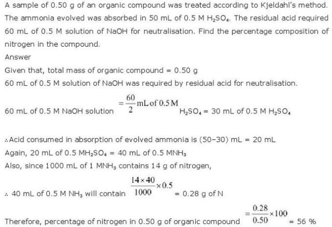 12.33 CBSE NCERT std 11 Chemistry Organic