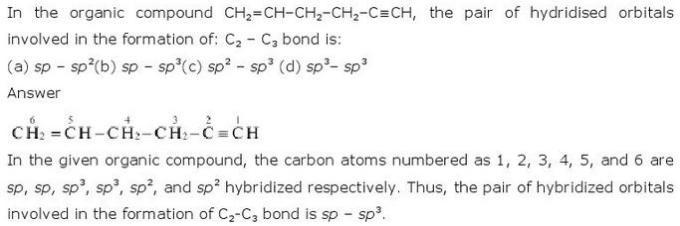 12.36 CBSE NCERT std 11 Chemistry Organic