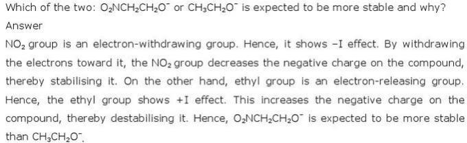 12.9 CBSE NCERT std 11 Chemistry Organic