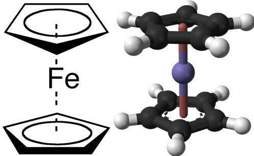 12 Ferrocene