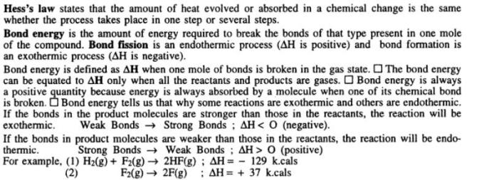 12 Thermochemistry Gyan