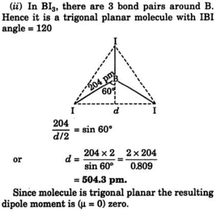 13 decreasing bond angle