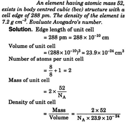 13 element having atomic mass 52 exists in bcc