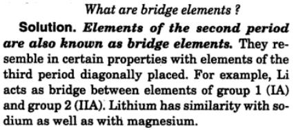 14 Bridge elements what are