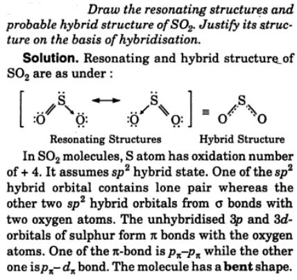 14 resonating structures probable hybrid structure