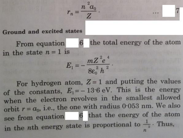 15 Bohrs model of electron around nucleus