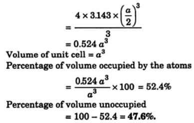 15 calculate and show that percentage space occupied