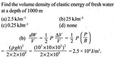 15a volume density of elastic energy
