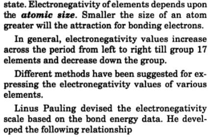 17 electronegativity varies in group