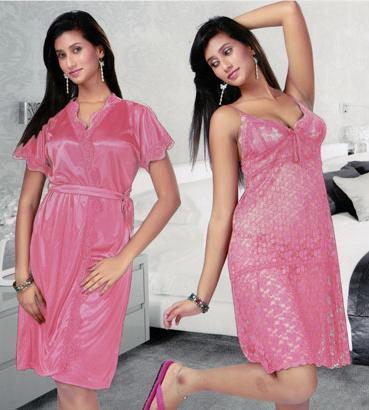 17b Pink nighwear