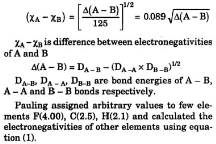18 electronegativity varies in group