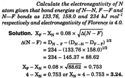 19 Calculate Electronegativity
