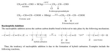 1a Nucleophilic addition