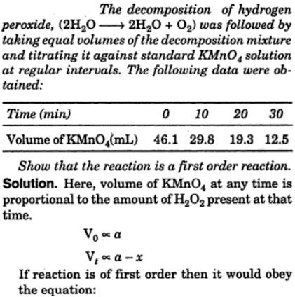 chemical kinetics of hydrogen peroxide decompotition Activity, ie, catalyzes both the decomposition of hydrogen peroxide and the oxidation of organic substrates, including both complexed and uncomplexed edta walling et al (5) examinedthe kinetics ofthis catalyzeddecompositionbriefly, finding the reaction first orderin feandfirst or higherorder in h202 therate initially increased withph,butleveled.