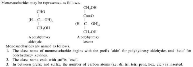 1b Monosaccharides