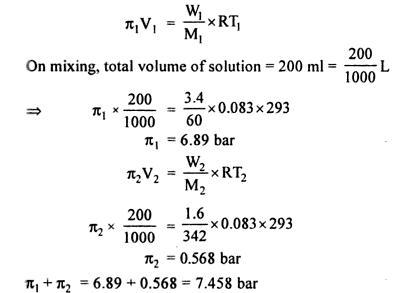 1b Osmotic pressure