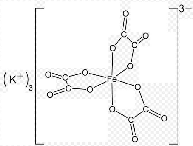 1b Potassium ferrioxalate