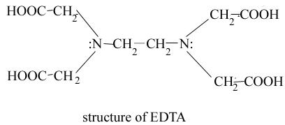 1b structure of EDTA