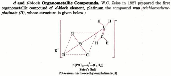 1b Zeise Naming of Organometallic compounds