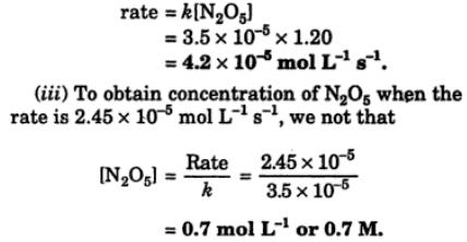 1c If the decomposition of Nitrogen V oxide