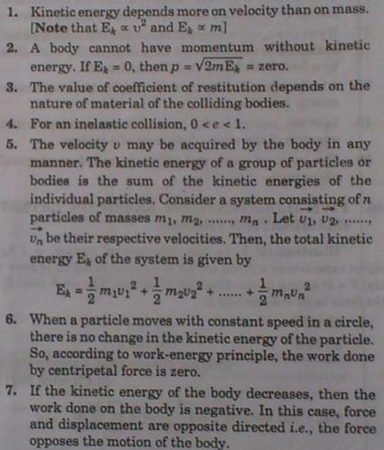 1d Momentum Kinetic Energy Basic concepts