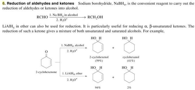 1e Methods of preparing Alcohols