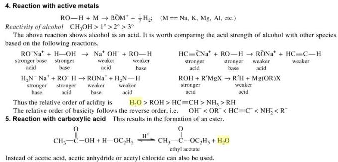 1i reaction with active metals