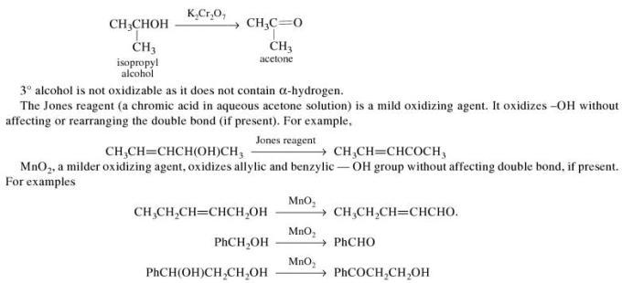 1k oxidation of alcohols