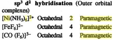 1k sp3d2 hybridization