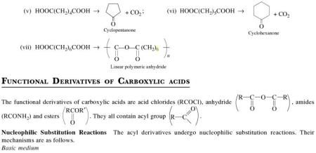 1m Functional Derivatives of Carboxylic acids