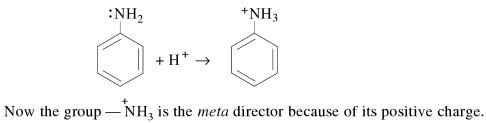 1m Ring substitution in Aromatic Amines