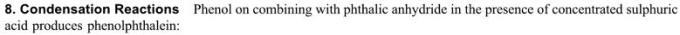 1o Condensation reaction