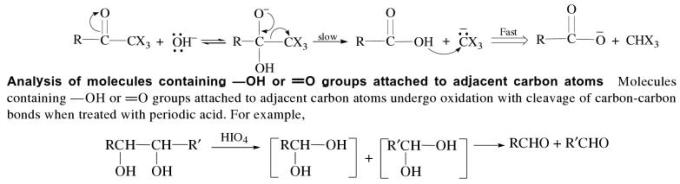 1p Analysis of molecules containing OH