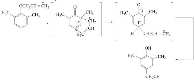 1r Schotten Baumann reaction Claisen rearrangement