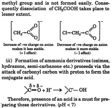 2 Acetic acid is a weaker acid 3