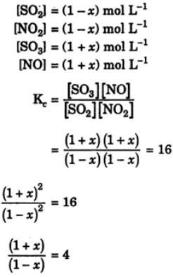 2 At certain temperature the equilibrium constant