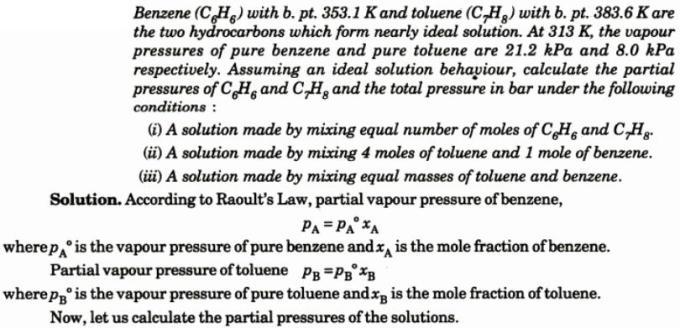 2 Benzene with b.p. 353.1 K