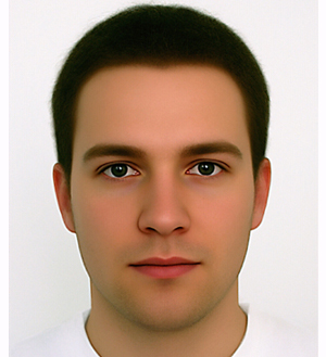 2 computer generated male face